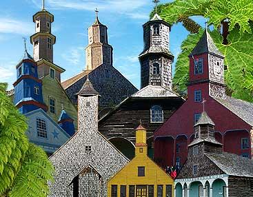 Iglesias de Chiloé Fotografías de todas ellas.
