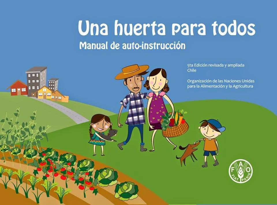 Una Huerta para todos Guía descargable fácil e ilustrativa.