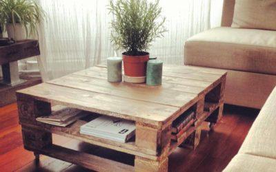 Pallets – Ideas para fabricar muebles. Grandes ideas para darle vida a esos pallets.
