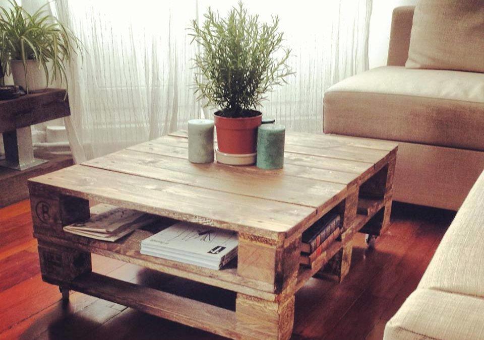 Pallets grandes ideas para fabricar muebles - Mesa para fabricar palets ...