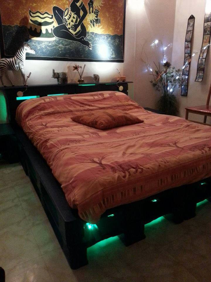 pallets-cama-con-luces