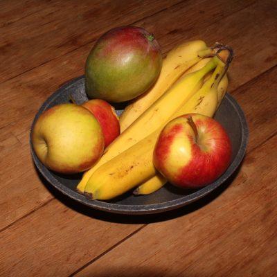 manzanas y platanos