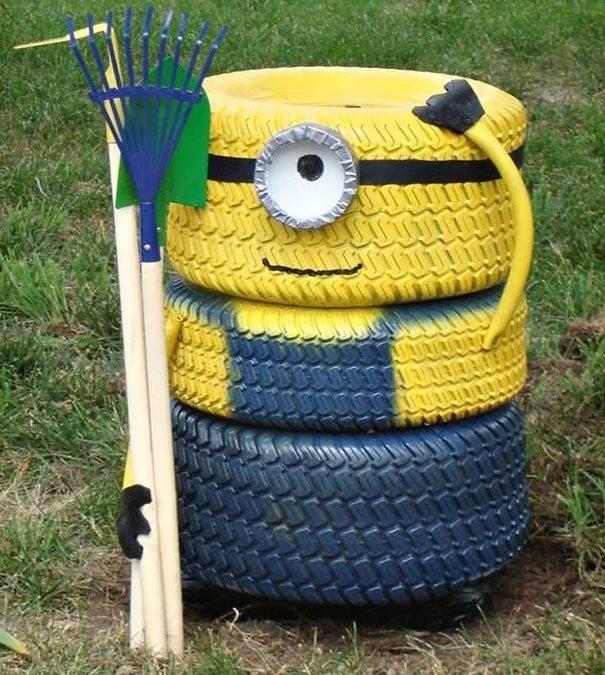 Reciclaje con neumáticos Ideas para reutilizar neumáticos